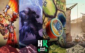 HypeKnights: Cloudspire, Super Fantasy Brawl, Mythic Battles: Ragnarök e Mosaic: A Story of Civilization