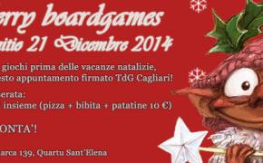 Merry Boardgames - festeggiamo il Natale con la TdG Cagliari!