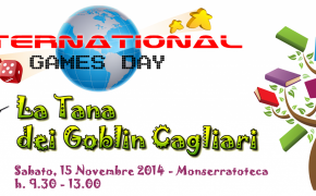 La TdG Cagliari all'International Games Day @your library - Leggi, apprendi e...gioca!