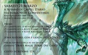 Torneo Two Headed Giant, Draft Magic