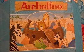 Copertina del gioco da tavolo per bambini Archelino