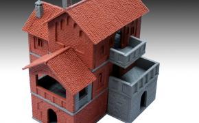 Manorhouse Workshop: le prime copie in resina delle case in mattoni.