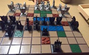 Sfida a Cyvasse nelle terre di Westeros