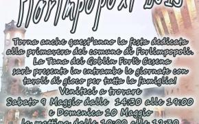 9-10 Maggio area dimostrativa della Tana dei Goblin Forlì Cesena a Fiorimpopoli 2015