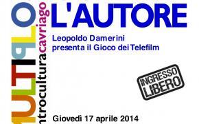 Giovedi 17 aprile - 20,45 - Gioca con l'autore: Leopoldo Damerini - al Multiplo di Cavriago (RE)