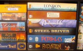 Martin Wallace: autore di molti giochi da tavolo (Brass, Age of Steam..)