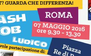 Flash mob ludico nello slot mob fest