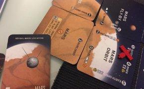 Leaving earth - Marte