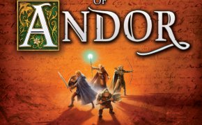Copertina del gioco da tavolo cooperativo Le Leggende di Andor