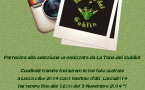Instagoblin Lucca C&G edition! #TdG_Lucca2014