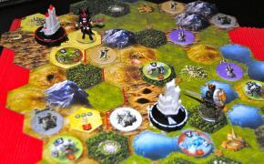 Mage Knight: zoom sulla plancia da gioco