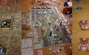 Un weekend con Mage wars, Android Netrunner, The Gallerist