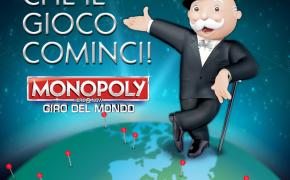 """Al via """"Monopoly Giro del Mondo"""": una votazione internazionale per eleggere le 22 città che popoleranno il mitico tabellone"""