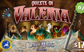 [Crowdfunding] Quests of Valeria: Lords of Valeria o Quests for Waterdeep?