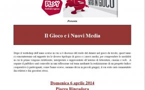 Play: workshop Il Gioco e i Nuovi Media