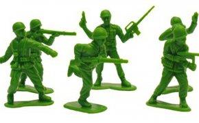 soldatini di plastica