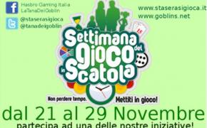 [News] Settimana del gioco in scatola