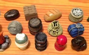 [Crowdfunding] : Three New Treasure Chests of Realistic Resource Tokens (Stonemaier Games)
