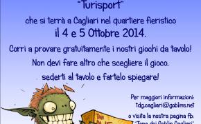 La Tana dei Goblin Cagliari al TURISPORT 2014!