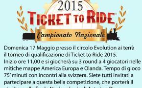 TDG Bologna-Evolution organizzano il torneo di Ticket to Ride per accedere alle finali degli Asterion Days
