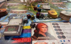 Componenti di The witcher adventure game