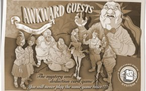 Awkward Guests - Cover