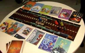 Componenti del gioco Dixit Odyssey presentato a Norimberga