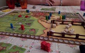 Plancia di gioco di El Gaucho