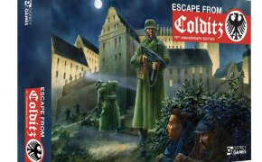 Scatola del gioco Escape from Colditz