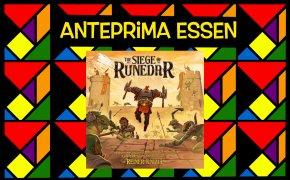 Anteprime Essen 2021: The Siege of Runedar