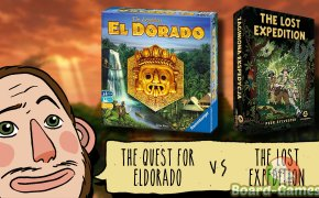 Board in Short – Episode 6: The Legendary El Dorado VS The Lost Expedition, by Ludo&crudo