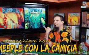 Euphoria + Espansione Ignorance is bliss – Due chiacchiere con il Meeple con la Camicia
