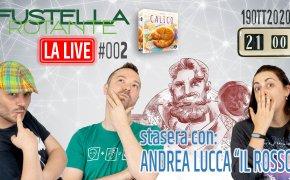 """La Live #002 – 19/10/2020 – Ospite Andrea Lucca """"Il Rosso"""" – Calico"""