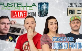 Fustella Rotante – LA LIVE #004 – 02/11/2020 – Ospite Lorenzo Fantoni – Bonfire