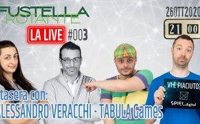 La Live #003 – 26/10/2020 – Ospite Alessandro Veracchi (Tabula Games)