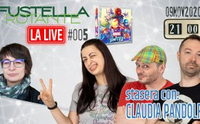 Fustella Rotante – LA LIVE #005 – 09/11/2020 – Ospite Claudia Pandolfi – Marvel United