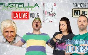 Fustella Rotante – LA LIVE #006 – 16/11/2020 – Ospite Luca Borsa – MicroMACRO: Crime City