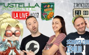 Fustella Rotante – LA LIVE #007 – 23/11/2020 – Ospite Zemilio – Jurassic Brunch