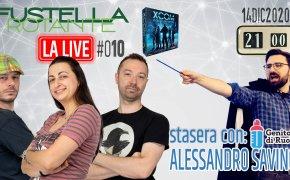 Fustella Rotante – LA LIVE #010 – 14/12/2020 – Ospite Alessandro Savino (Genitori di Ruolo) – XCOM