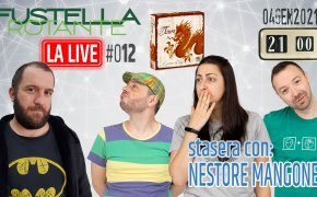 Fustella Rotante – LA LIVE #012 – 04/01/2021 – Ospite Nestore Mangone – Tsuro