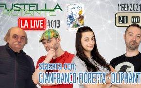 Fustella Rotante – LA LIVE #013 – 11/01/2021 – Ospite Gianfranco Fioretta (Oliphante 2) – Akros