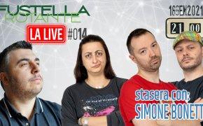 Fustella Rotante – LA LIVE #014 – 18/01/2021 – Ospite Simone Bonetti