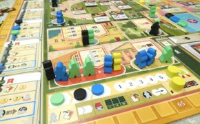 [Ieri Sera sul Nostro Tavolo] Alma Mater, Flip City, The Castles of Tuscany, Tranquility, Fuga da Alcatraz, Ohanami, LLAMA, Bloom Town, Everdell, Match Up! Food, Pacific Rails Inc., U-BOOT...
