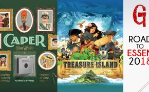 Road to Essen #04 : Treasure Island – Caper