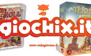 Giochix Editions: Tekhenu e Rome & Roll in uscita