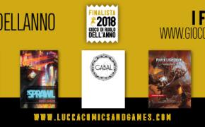 Annunciati i Finalisti del Gioco di Ruolo dell'Anno 2018