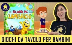 La Corsa dei Lombrichi - Gioco da Tavolo per Bambini - 4+ anni