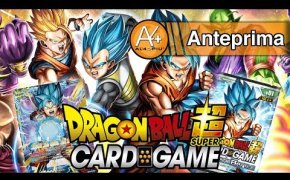 Il gioco di carte di DRAGON BALL SUPER in ITALIANO!