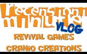 Revival games (Tigri & Eufrate, Terra Nova, Mini Inkognito) - Cranio Creations - Vlog [134]