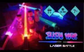 Guerra a colpi di SUSHI con Sushi War: Laser Battle